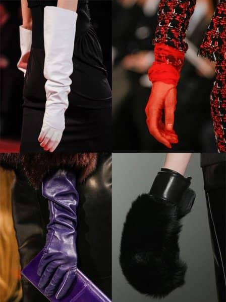 Модные перчатки осень-зима 2013-2014