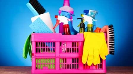 Маленькие хитрости, избавляющие от уборки помещения после ремонта