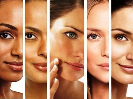 Тесты на определение типа кожи лица