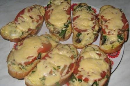 Горячие бутерброды в микроволновке - 6 рецептов