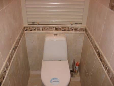 Дизайн маленького туалета - фото