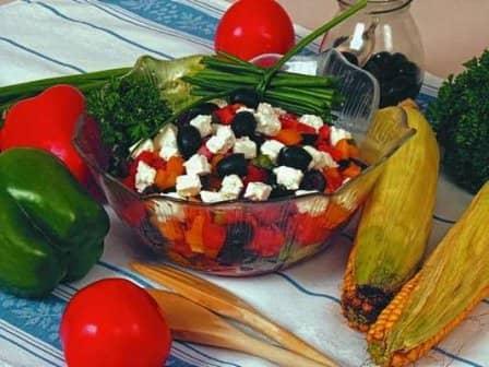 Салат «Вечер в Греции»