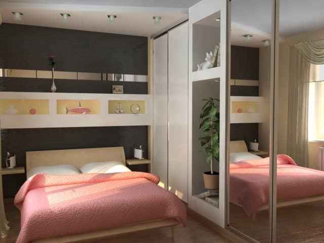 Спальня 6 кв м дизайн в хрущевке