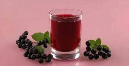 Напиток рябиновый