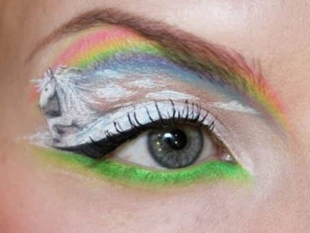 Художественный макияж от Sandra Holmbom