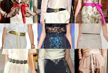Модные женские ремни 2013-2014 (фото)
