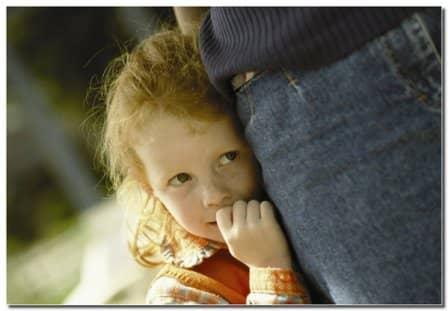 Детская застенчивость