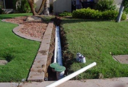 Осушение почвы на участке