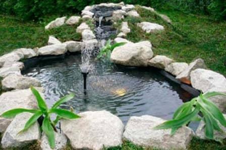 Дизайн фонтанов на даче фото