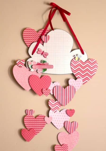 Романтическая композиция к Дню Святого Валентина