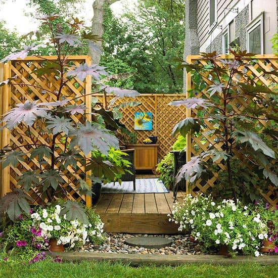 Уютные уголки в саду своими руками фото 69
