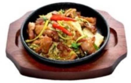 Кимчи поккум с рисом