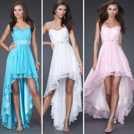 Восхитительные длинные выпускные платья