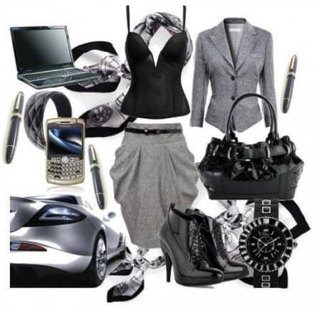 Успешная бизнес-леди и ее аксессуары