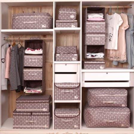 Коробки для хранения вещей - важней всего порядок в доме