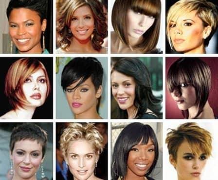 Выбрать прическу короткие волосы