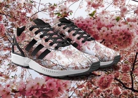 Кроссовки Adidas с пейзажами из Instagram