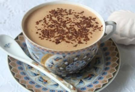 Зефирный горячий шоколад по-австрийски - рецепт с фото
