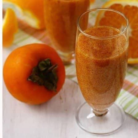 Смузи из хурмы и апельсина