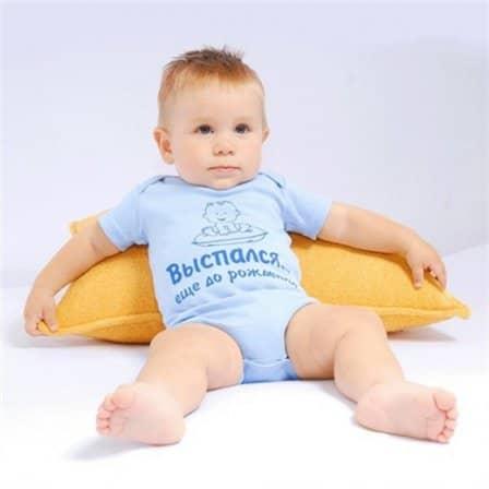 Боди-футболка — необходимая вещь в детском гардеробе