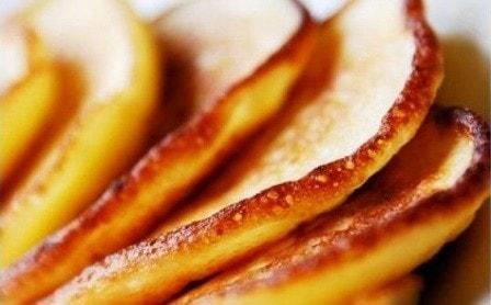 Творожно-банановые оладушки