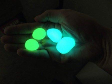 Декоративные светящиеся камни своими руками
