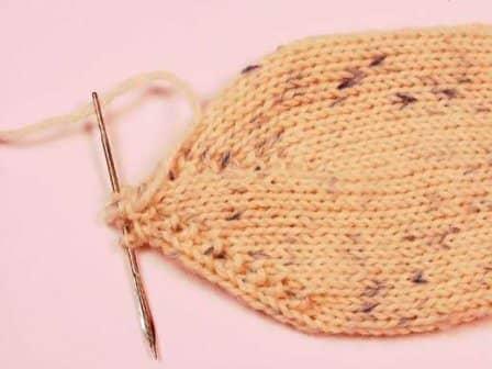 Вязание носков на 5 спицах - мастер-класс