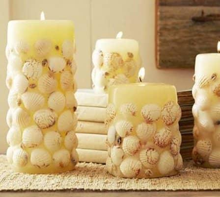 Роль свечей в интерьере