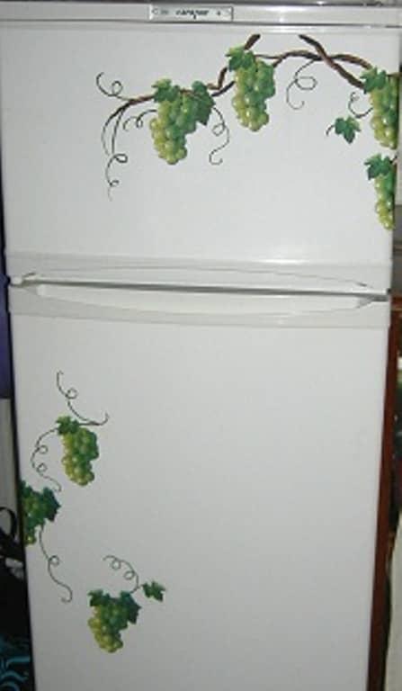 Декорируем холодильник - мастер-класс