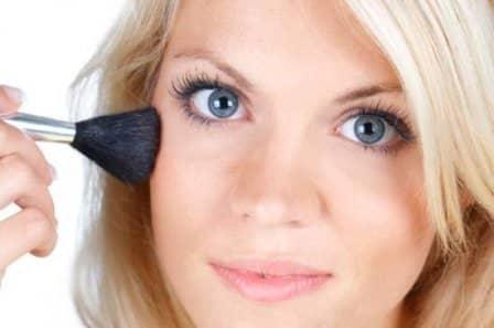 Коррекция недостатков кожи лица с помощью макияжа