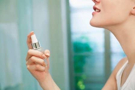 Применение духов и других парфюмированных средств