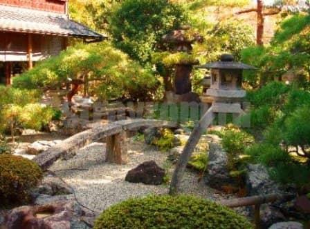 Устройство садика в японском стиле