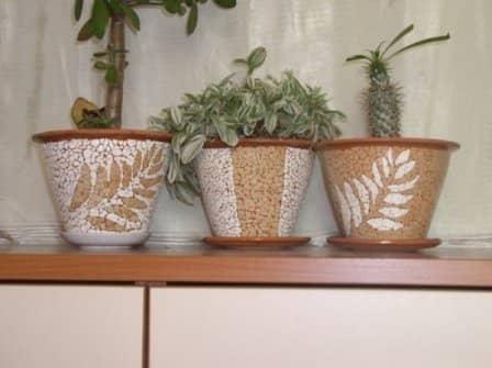 Техника кракле: мозаика из яичной скорлупы