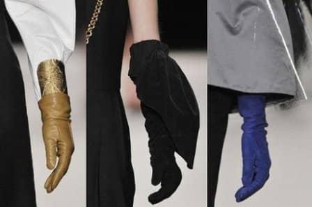 Как подобрать платок и перчатки?