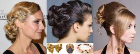 Новогодние аксессуары для волос