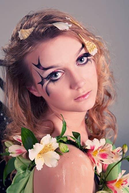Фейс-арт макияж- фото