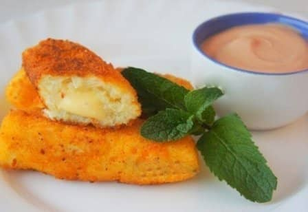 Картофельные палочки с сыром (рецепт с фото)