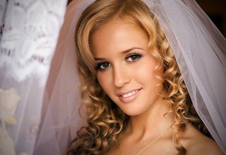 Свадебный макияж - фото