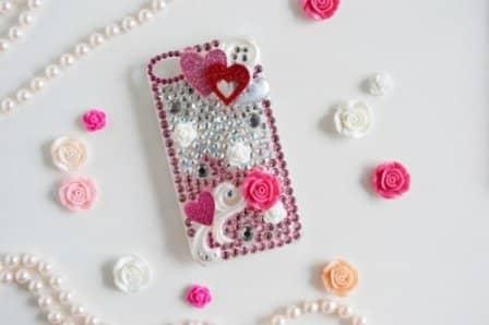 Декорирование мобильного телефона своими руками