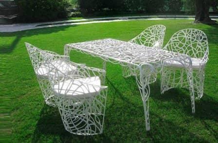 Садовая мебель - оригинальные идеи
