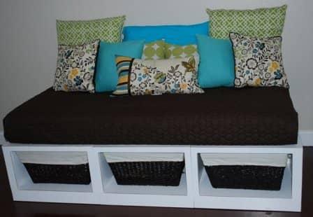 Дачный диванчик своими руками