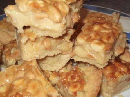 Орехово-карамельное печенье