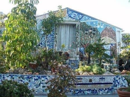 Мозаичные идеи для дачи