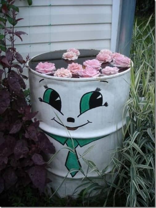 рак отлично рисунки на бочках для дачи картинки цветы весне