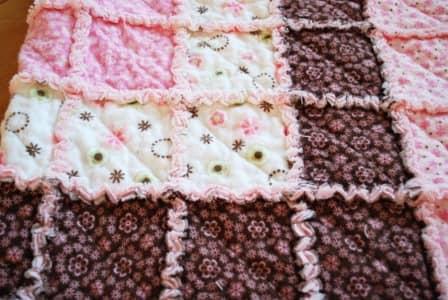 Детское одеяло из фланелевых пеленок - подробный фото-урок