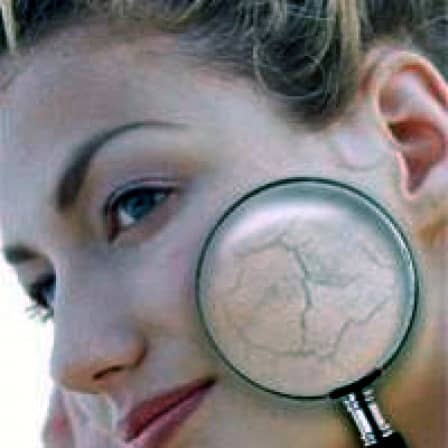 Обезвоживание кожи лица с возрастом