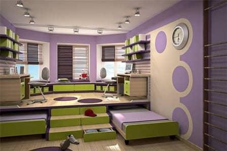 Подиум в спальне - фото-идеи
