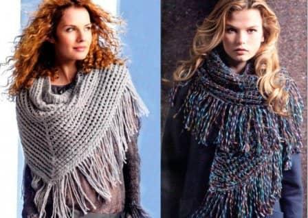 Виды женских шарфов