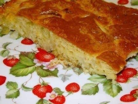 Ленивый пирог с капустой (рецепт с фото)