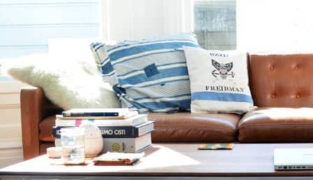 Виды декоративных подушек для дивана